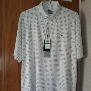 Callaway Men's Golf Shirt Size Large New With Tags